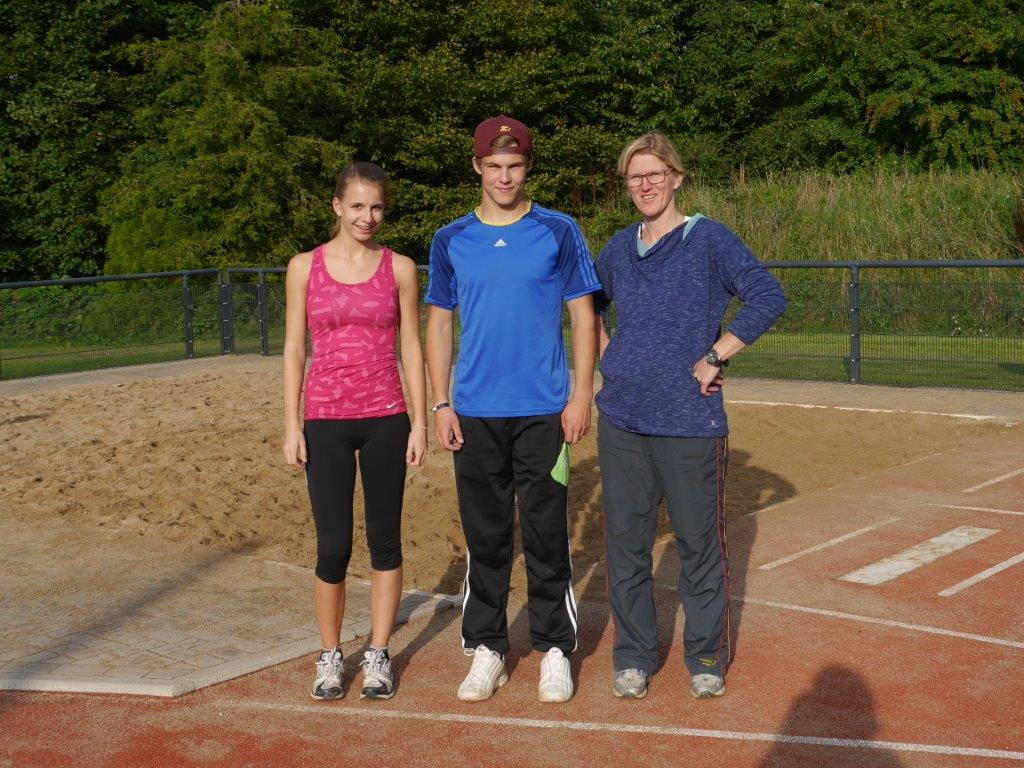 Trainerteam Leitathletik