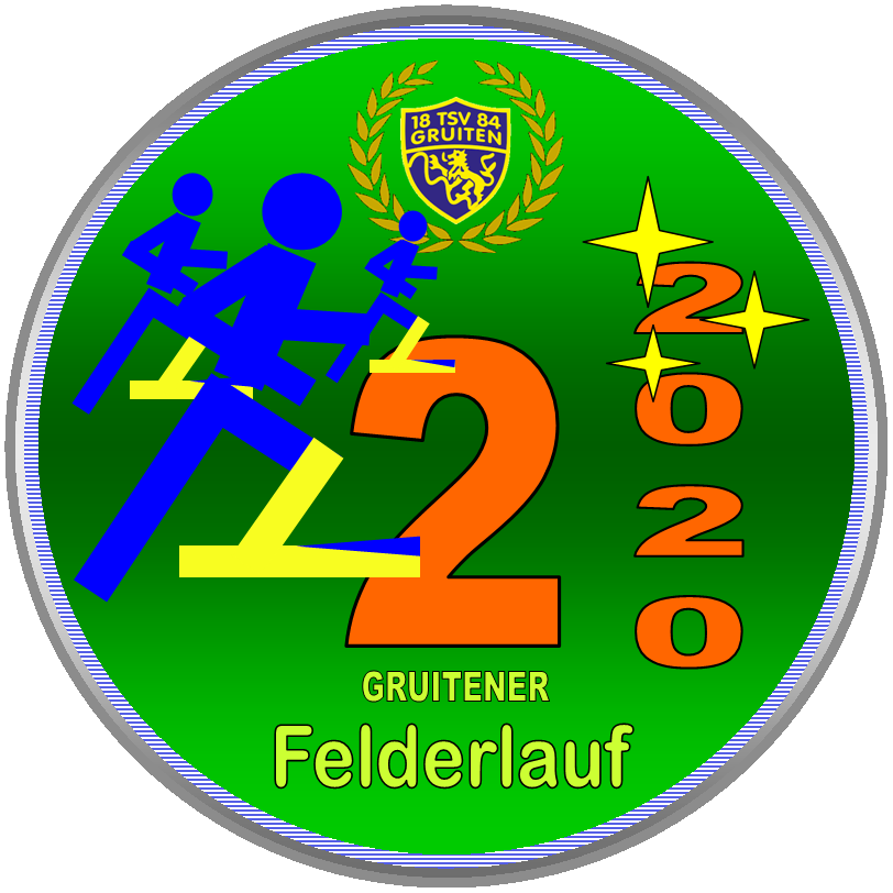 Gruitener Felderlauf Medaille Erwachsene